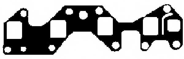 Прокладка впускного коллектора GLASER X55320-01 - изображение