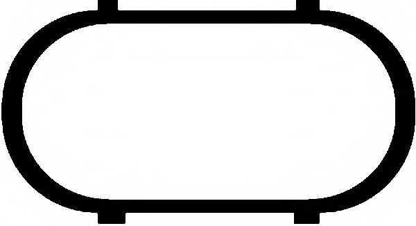 Прокладка впускного коллектора GLASER X56501-01 - изображение