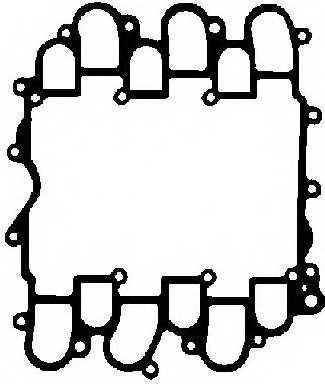 Прокладка корпуса впускного коллектора GLASER X57662-01 - изображение