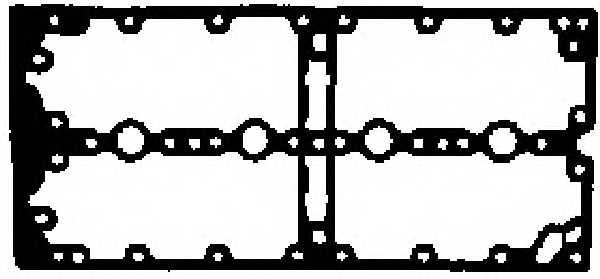 Прокладка крышки головки цилиндра GLASER X83132-01 - изображение