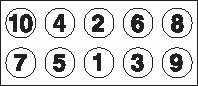 Комплект болтов головки цилидра GOETZE 22-18085B - изображение