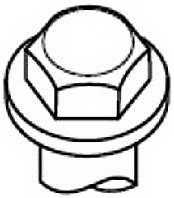 Комплект болтов головки цилидра GOETZE 22-53012B - изображение 1