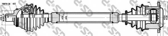 Приводной вал GSP GDS83050 / 203050 - изображение
