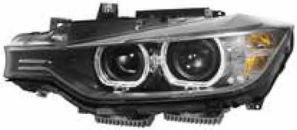 Основная фара HELLA 1ZS354983-221 - изображение