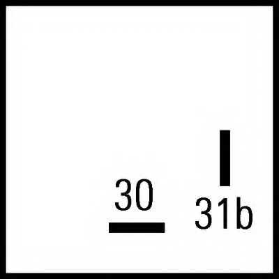 Сигнализатор HELLA e1 035894 / 3SB 003 985-061 - изображение 1