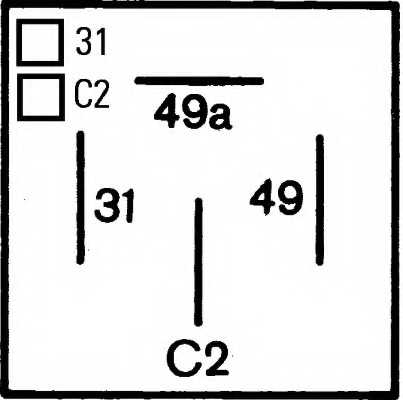 Прерыватель указателей поворота HELLA 4DM 003 360-021 - изображение 2