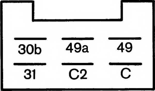 Прерыватель указателей поворота HELLA 4DM 003 944-091 - изображение 2