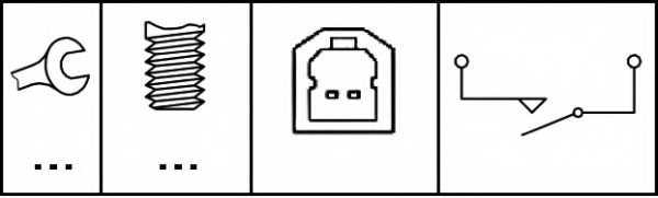 Выключатель, привод тормоза (механизм газораспределения) HELLA 6DD 010 966-011 - изображение 1