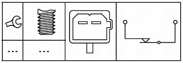 Выключатель, привод сцепления (управление двигателем) HELLA 6DD 179 465-101 - изображение 1