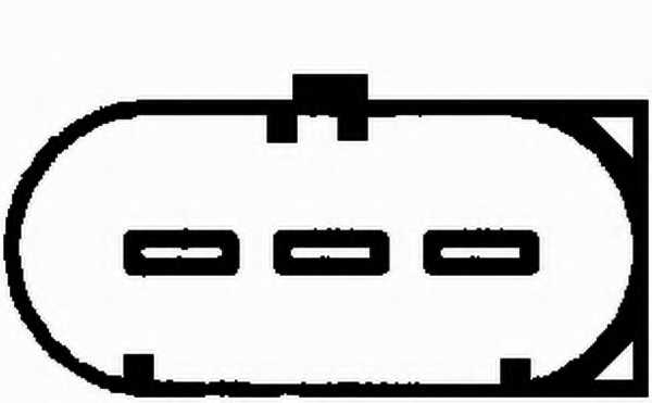 Датчик, уровень моторного масла HELLA 6PR008324-101 - изображение 1