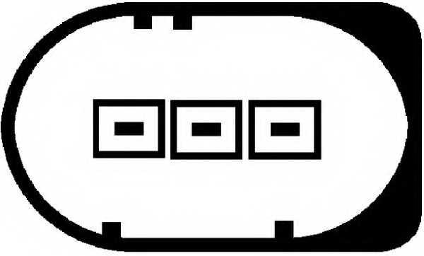 Датчик, уровень моторного масла HELLA 6PR009629-011 - изображение 1
