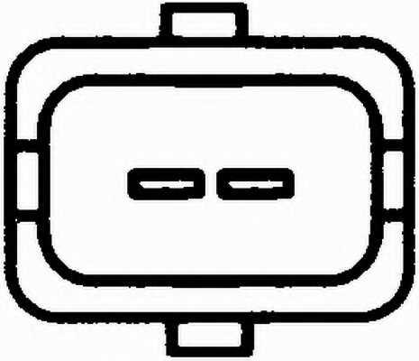 Датчик температуры масла HELLA 6PT 009 107-611 - изображение 1