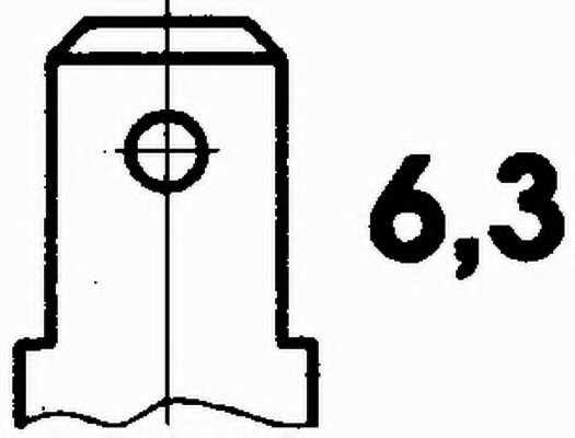 Датчик температуры охлаждающей жидкости HELLA 6PT 009 107-651 - изображение 1