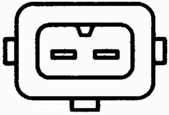 Датчик температуры впускаемого воздуха HELLA 6PT 009 109-131 - изображение 1