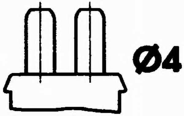 Датчик температуры охлаждающей жидкости HELLA 6PT 009 309-041 - изображение 1