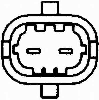 Датчик импульсов HELLA 6PU 009 121-221 - изображение 1