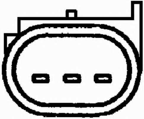 Датчик положения распредвала HELLA 6PU 009 121-691 - изображение 1
