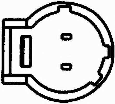 Датчик импульсов HELLA 6PU 009 163-341 - изображение 1