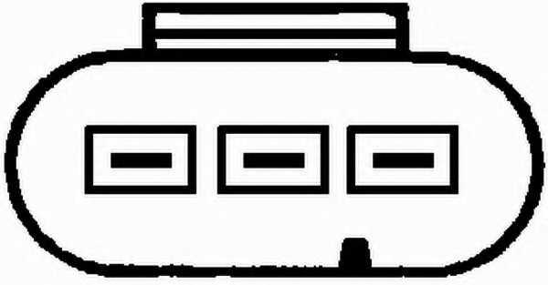 Датчик импульсов HELLA 6PU 009 163-361 - изображение 1