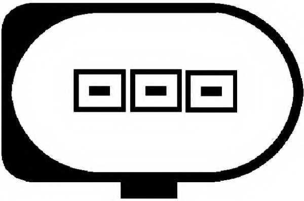 Датчик импульсов HELLA 6PU 009 163-481 - изображение 1