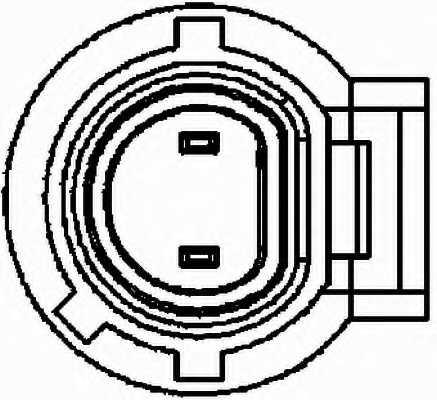Датчик импульсов HELLA 6PU 009 163-641 - изображение 1