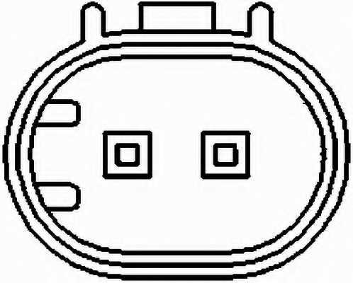 Датчик частоты вращения колеса HELLA 6PU 010 039-061 - изображение 1
