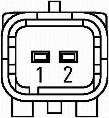 Датчик частоты вращения колеса HELLA 6PU 010 039-091 - изображение 1