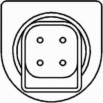 Датчик частоты вращения колеса HELLA 6PU 010 039-121 - изображение 1