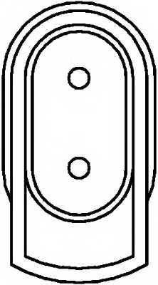 Датчик частоты вращения колеса HELLA 6PU010039-541 - изображение 1