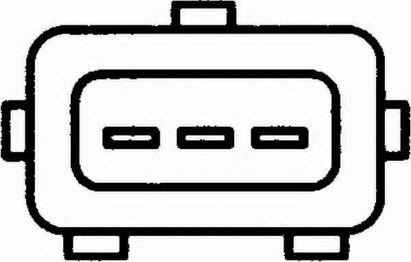 Датчик положения дроссельной заслонки HELLA 6PX 008 476-281 - изображение 1