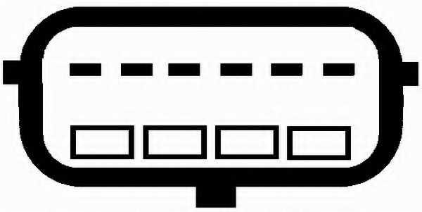 Расходомер воздуха HELLA 8ET 009 142-131 - изображение 1