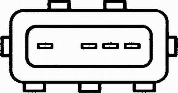 Расходомер воздуха HELLA 8ET 009 142-201 - изображение 1
