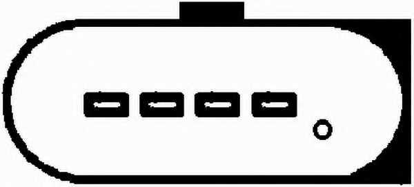 Расходомер воздуха HELLA 8ET 009 142-241 - изображение 1