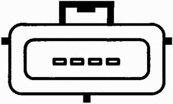 Расходомер воздуха HELLA 8ET 009 142-281 - изображение 1