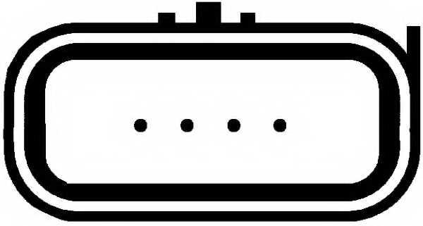 Расходомер воздуха HELLA 8ET 009 142-591 - изображение 1