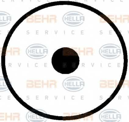 Компрессор кондиционера для VOLVO C70, S70(LS), V70(LV), XC70 CROSS COUNTRY <b>HELLA BEHR SERVICE Version ALTERNATIVE 8FK 351 109-721</b> - изображение 4