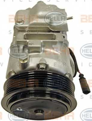 Компрессор кондиционера для AUDI A2 / SKODA FABIA, ROOMSTER / VW BORA, FOX, GOLF, LUPO, POLO <b>HELLA BEHR SERVICE Version ALTERNATIVE 8FK 351 110-241</b> - изображение 1
