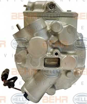 Компрессор кондиционера для AUDI A2 / SKODA FABIA, ROOMSTER / VW BORA, FOX, GOLF, LUPO, POLO <b>HELLA BEHR SERVICE Version ALTERNATIVE 8FK 351 110-241</b> - изображение 2