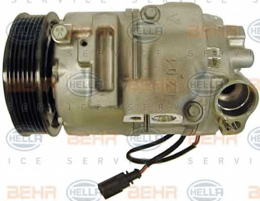 Компрессор кондиционера для AUDI A2 / SKODA FABIA, ROOMSTER / VW BORA, FOX, GOLF, LUPO, POLO <b>HELLA BEHR SERVICE Version ALTERNATIVE 8FK 351 110-241</b> - изображение 3