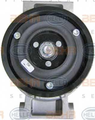Компрессор кондиционера для AUDI A4(8HE, B6, B7,8E2,8E5,8EC,8ED,8H7), A6(C6,4F2,4F5,4FH) <b>HELLA BEHR SERVICE Version ALTERNATIVE 8FK 351 110-881</b> - изображение 1