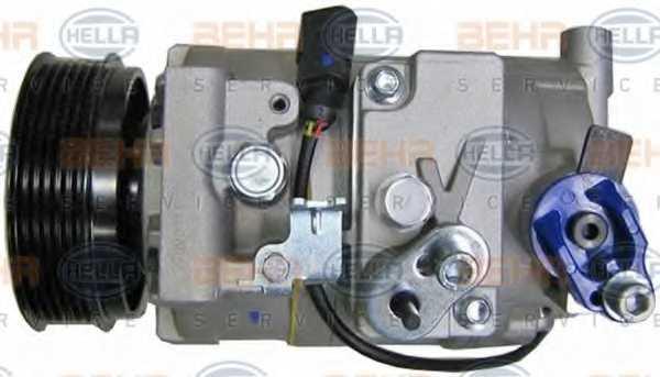 Компрессор кондиционера для AUDI A4(8HE, B6, B7,8E2,8E5,8EC,8ED,8H7), A6(C6,4F2,4F5,4FH) <b>HELLA BEHR SERVICE Version ALTERNATIVE 8FK 351 110-881</b> - изображение 3
