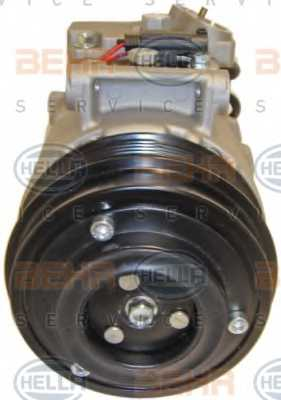 Компрессор кондиционера для MERCEDES C, CLS, E, GLK <b>HELLA BEHR SERVICE Version ALTERNATIVE 8FK 351 110-931</b> - изображение 1