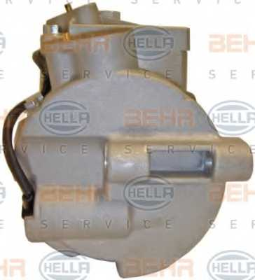 Компрессор кондиционера для MERCEDES C, CLS, E, GLK <b>HELLA BEHR SERVICE Version ALTERNATIVE 8FK 351 110-931</b> - изображение 2