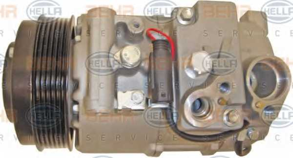 Компрессор кондиционера для MERCEDES C, CLS, E, GLK <b>HELLA BEHR SERVICE Version ALTERNATIVE 8FK 351 110-931</b> - изображение 3
