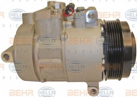 Компрессор кондиционера для MERCEDES C, CLS, E, GLK <b>HELLA BEHR SERVICE Version ALTERNATIVE 8FK 351 110-931</b> - изображение 4