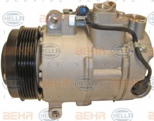 Компрессор кондиционера для MERCEDES C, CLS, E, GLK <b>HELLA BEHR SERVICE Version ALTERNATIVE 8FK 351 110-931</b> - изображение