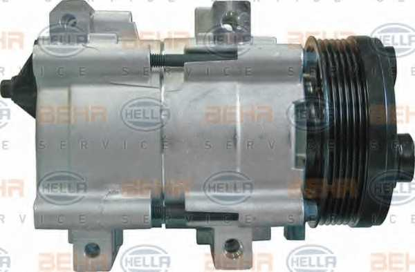 Компрессор кондиционера для FORD GALAXY, TRANSIT <b>HELLA BEHR SERVICE Version ALTERNATIVE 8FK 351 113-691</b> - изображение 3