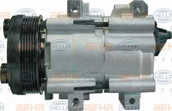 Компрессор кондиционера для FORD GALAXY, TRANSIT <b>HELLA BEHR SERVICE Version ALTERNATIVE 8FK 351 113-691</b> - изображение