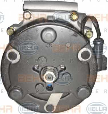 Компрессор кондиционера для FORD FIESTA, FOCUS, FUSION, TOURNEO CONNECT, TRANSIT CONNECT / MAZDA 2 <b>HELLA BEHR SERVICE Version ALTERNATIVE 8FK 351 113-811</b> - изображение 1