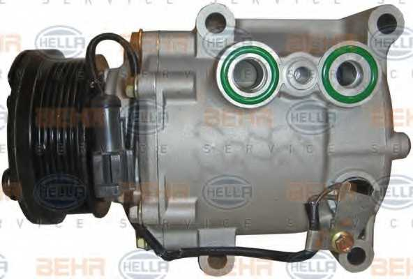 Компрессор кондиционера для FORD FIESTA, FOCUS, FUSION, TOURNEO CONNECT, TRANSIT CONNECT / MAZDA 2 <b>HELLA BEHR SERVICE Version ALTERNATIVE 8FK 351 113-811</b> - изображение